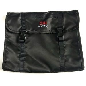 Chi Air Black Toiletries/Grooming Organizer New
